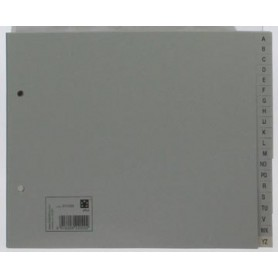 STAR intercalaires ft A5, perforation 2 trous, gris
