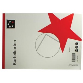 STAR fiches blanches ft A4, uni, 100 pièces