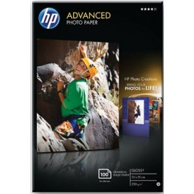 HP Advanced papier photo, ft 10 x 15 cm, 250 g, paquet de 100 feuilles, brillant