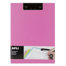 PORTE BLOCS FOLDER PP FOAM COUL ROSE A4
