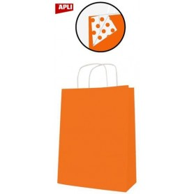 PAQ 50 SACS 25x11x31 KRAFT ORANGE