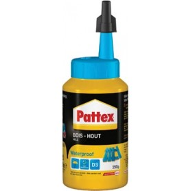 Pattex colle à bois Waterproof, 250 g