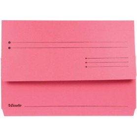Esselte Pochette documents Pocket File rouge