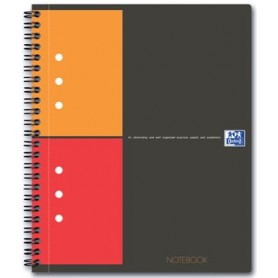Oxford INTERNATIONAL Notebook Connect, avec pages à scanner, 160 pages, ft A5 ,