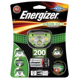 Energizer lampe frontale Vision HD , 3 piles AAA inclus, sous blister