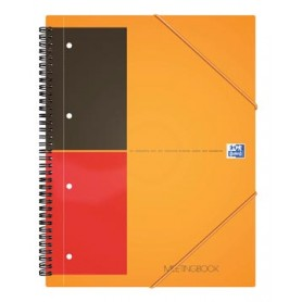Oxford INTERNATIONAL Meetingbook, 160 pages, ft A5 , ligné