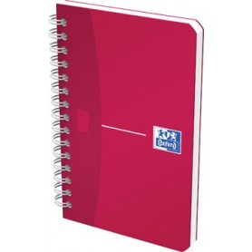 Oxford OFFICE MyColour cahier spiralé, 180 pages, ft 9 x 14 cm, quadrillé 5 mm