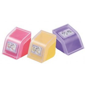 M R taille-crayons Cool   Colorful, en couleurs assorties