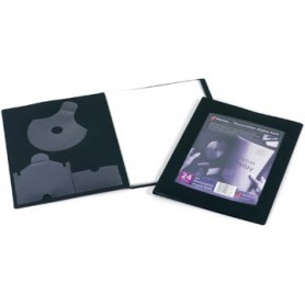 Rexel Protège-documents Professional Display Book, pour ft A4, 24 pochettes