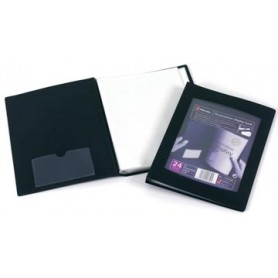 Rexel Protège-documents Professional Display Book, pour ft A5, 24 pochettes