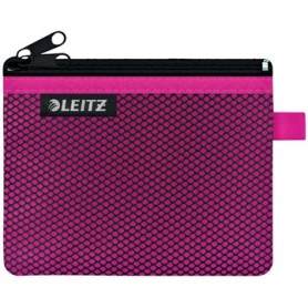 Leitz WOW Pochette, S, 2 compartiments, rose