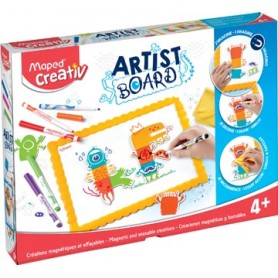 Maped Artist Board tableau blanc magnétique monstres