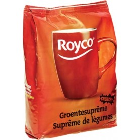 Royco Minute Soup legumes, pour automates, 140 ml, 90 portions