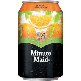 Minute Maid Orange jus de fruits, boîte de 33 cl, paquet de 24 pièces