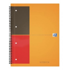 Oxford cahier International Notebook Connect, sans pages à scanner, 160 pages, f