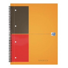 Oxford INTERNATIONAL Filingbook, 200 pages, ft A4 , ligné