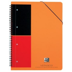 Oxford INTERNATIONAL Meetingbook, 160 pages, ft A4 , ligné