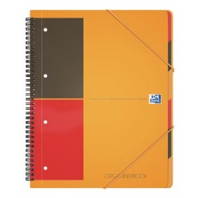 Oxford INTERNATIONAL Organiserbook, 160 pages, ft A4 , ligné
