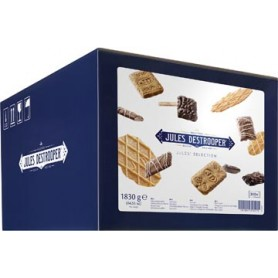 Jules Destrooper biscuits Jules  Selection, boîte de 300 biscuits