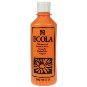Talens Ecola gouache flacon de 500 ml, orange