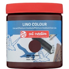 Talens Art Creation peinture linoléum, brun