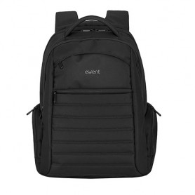 Ewent Urban, backpack 17.3 inch, Black