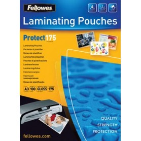 Fellowes pochette à plastifier Protect175 ft A3, 350 microns (2 x 175 microns),