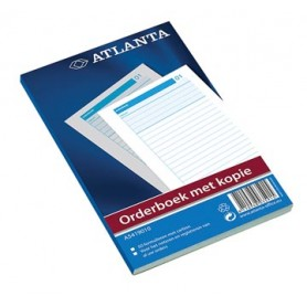 Atlanta by Jalema Orderbook 50 x 2 feuilles, ft 18,5 x 11 cm, 1 feuille carbone