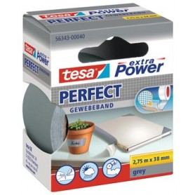 Tesa extra Power Perfect, ft 38 mm x 2,75 m, gris