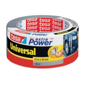 Tesa Extra Power Universal, ft 50 mm x 25 m, gris