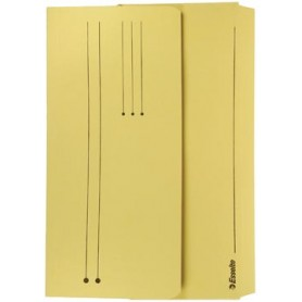 Esselte Pochette documents Pocket File jaune