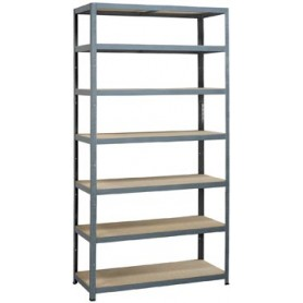 Avasco étagère Strong Tower XL, ft 222 x 120 x 45 cm, 7 tablettes